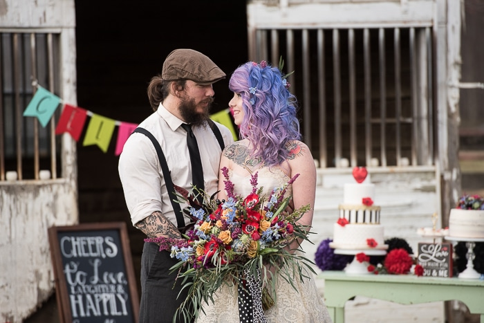 ultimate rockabilly wedding inspiration ideas pictures9