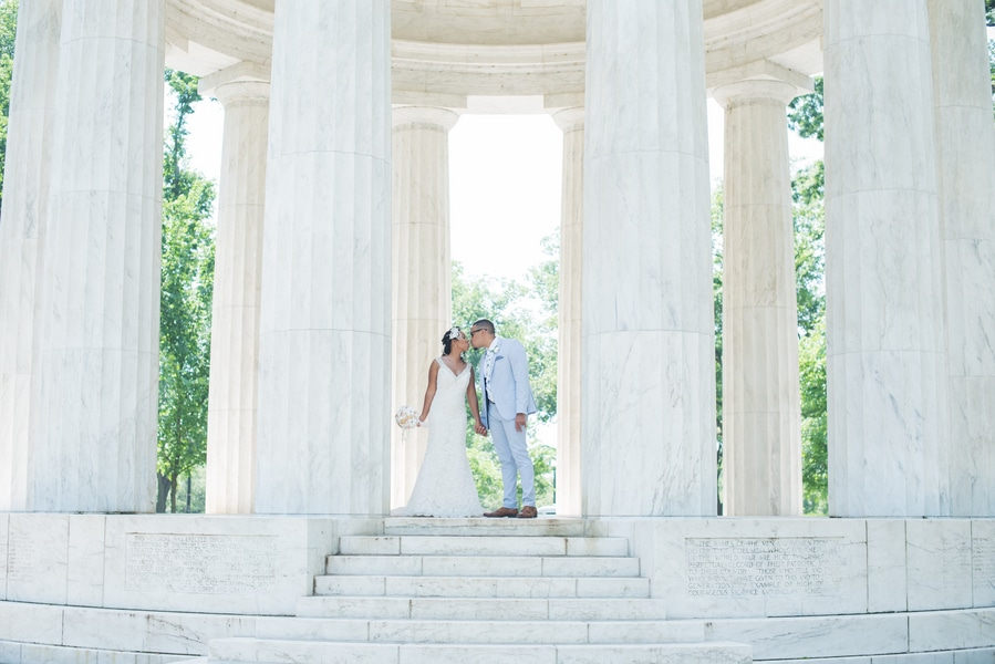 dc war memorial gorgeous wedding pictures (3)