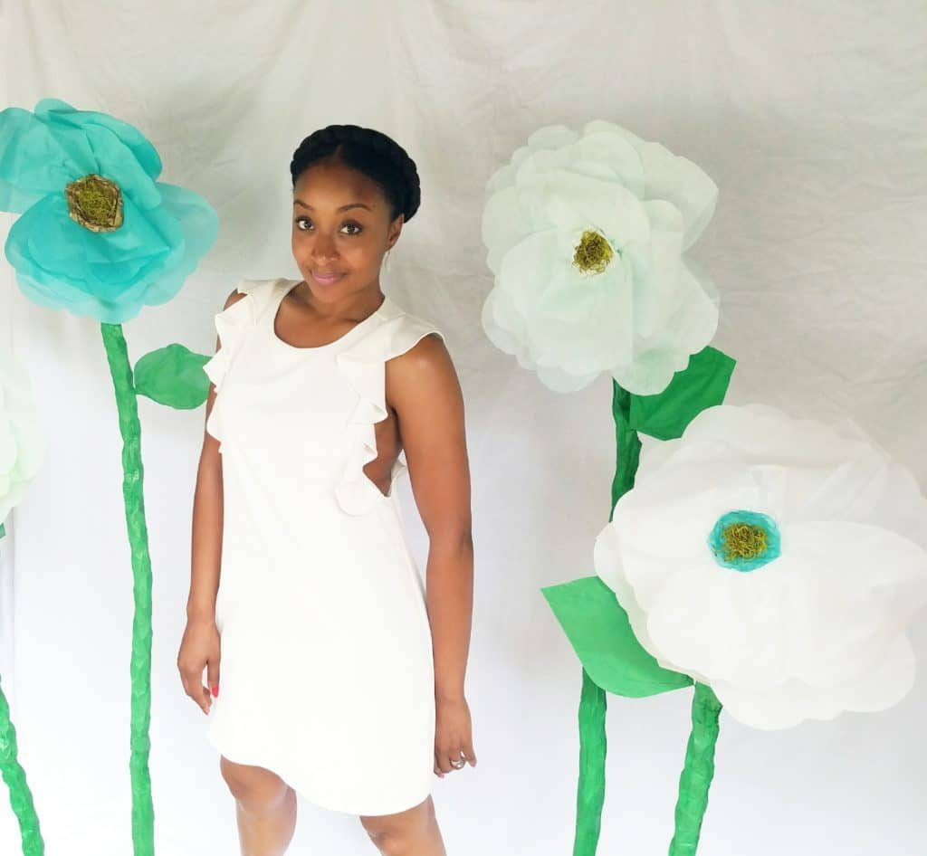 diy giant paper flower workshop how to (2)