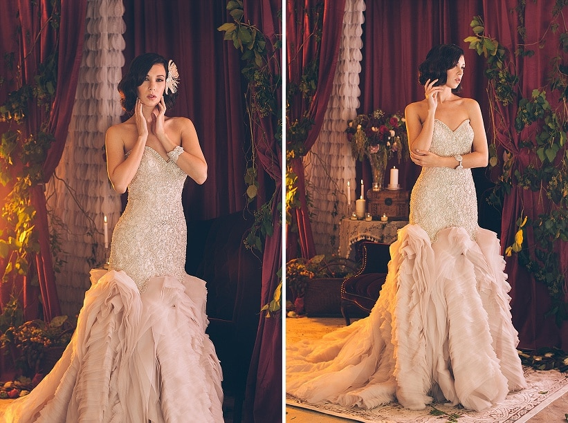 dramatic edgy wedding bride inspiration pictures (5)