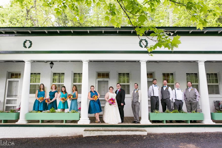 fun stylish tv-themed parks and rec virginia camp wedding18