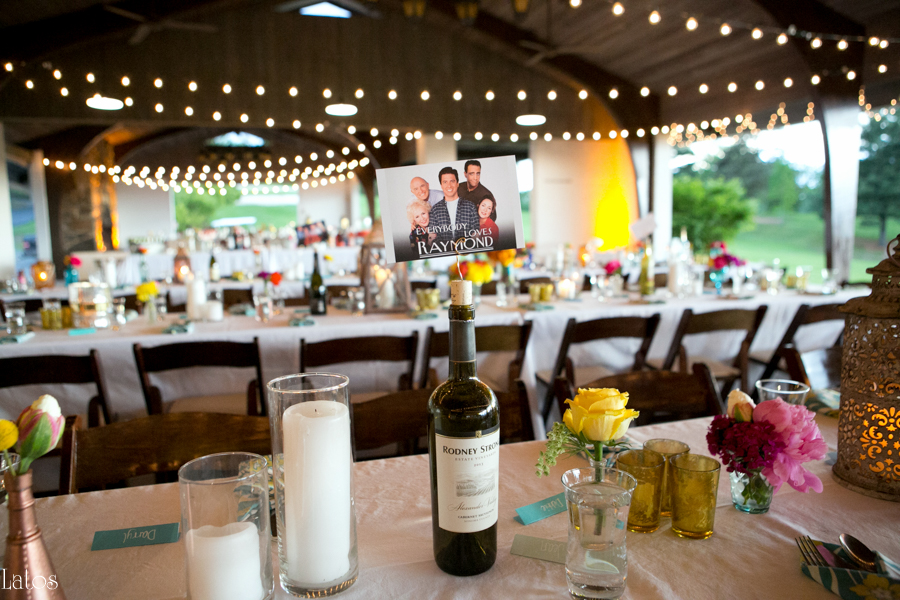 fun stylish tv-themed parks and rec virginia camp wedding25