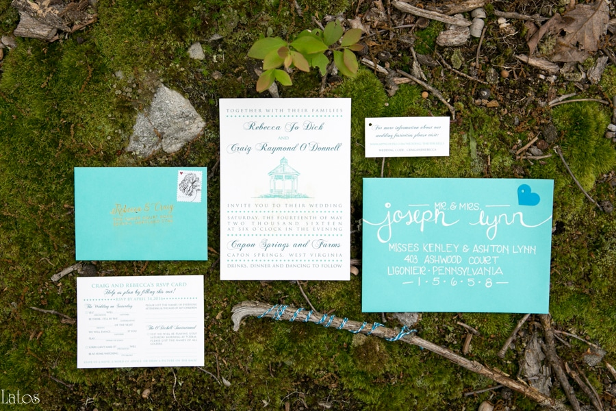 fun stylish tv-themed parks and rec virginia camp wedding9
