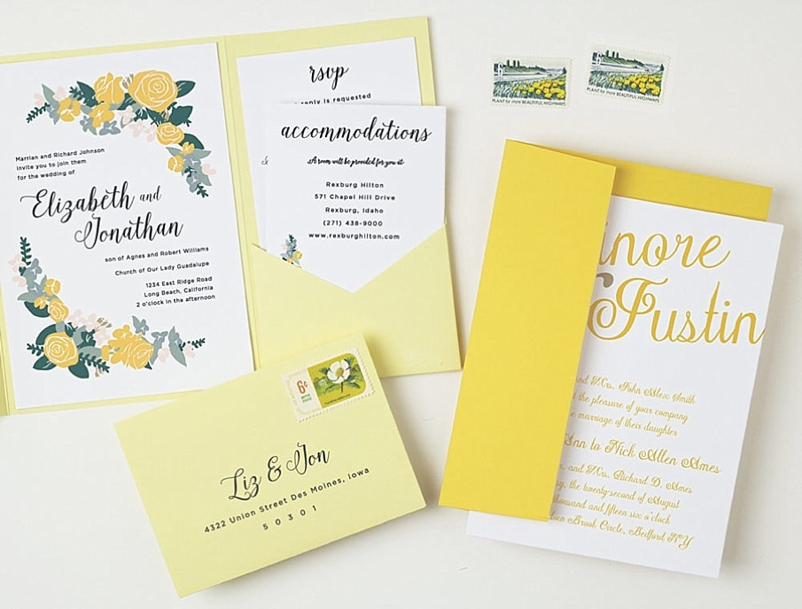 Introducing: Basic Invite ~ Customizable Online Wedding Invites ...