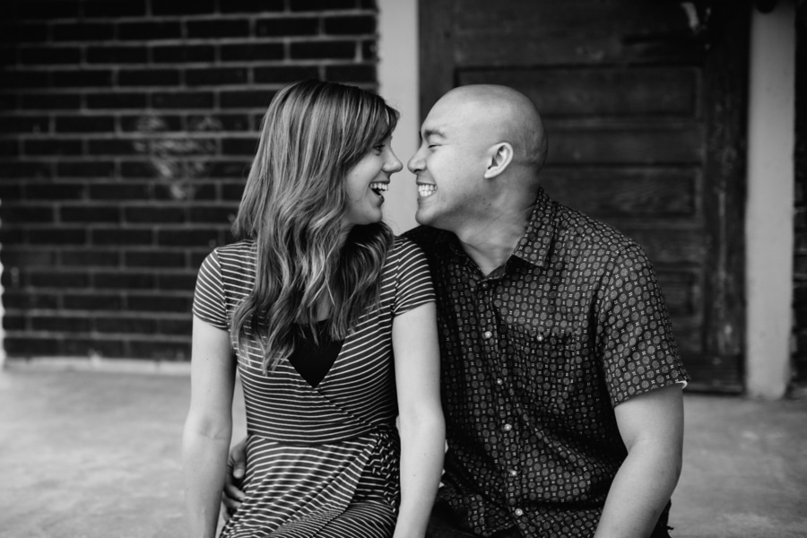 quirky fun casual alexandria virginia engagement pictures6